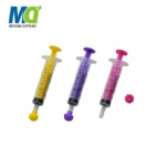 Oral syringe with cap